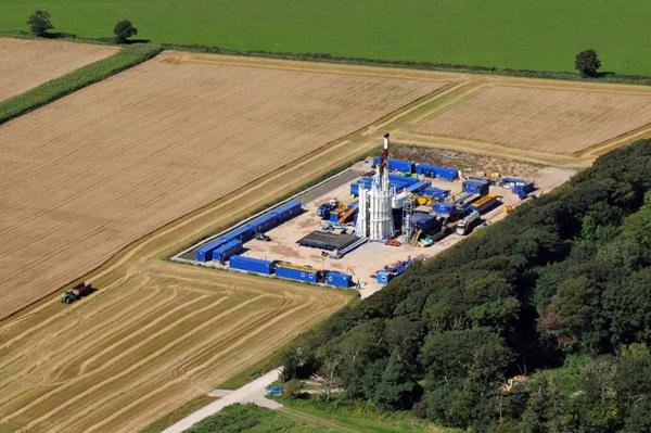 Cuadrilla Drilling Site