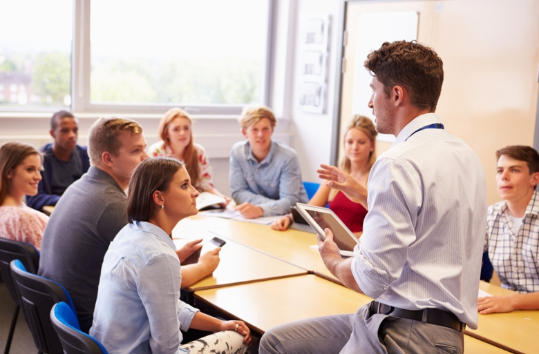 Business in the classroom