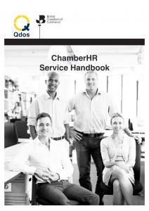 Chamber HR service handbook