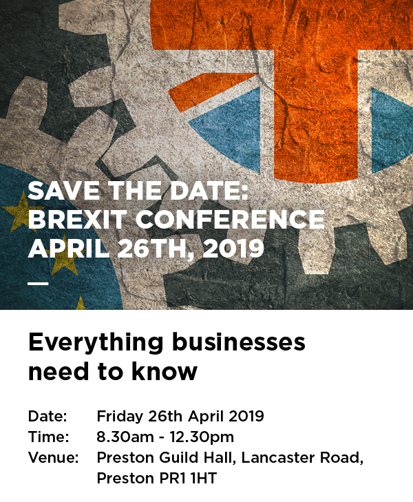 Brexit for Business Conference - North & Western Lancashire